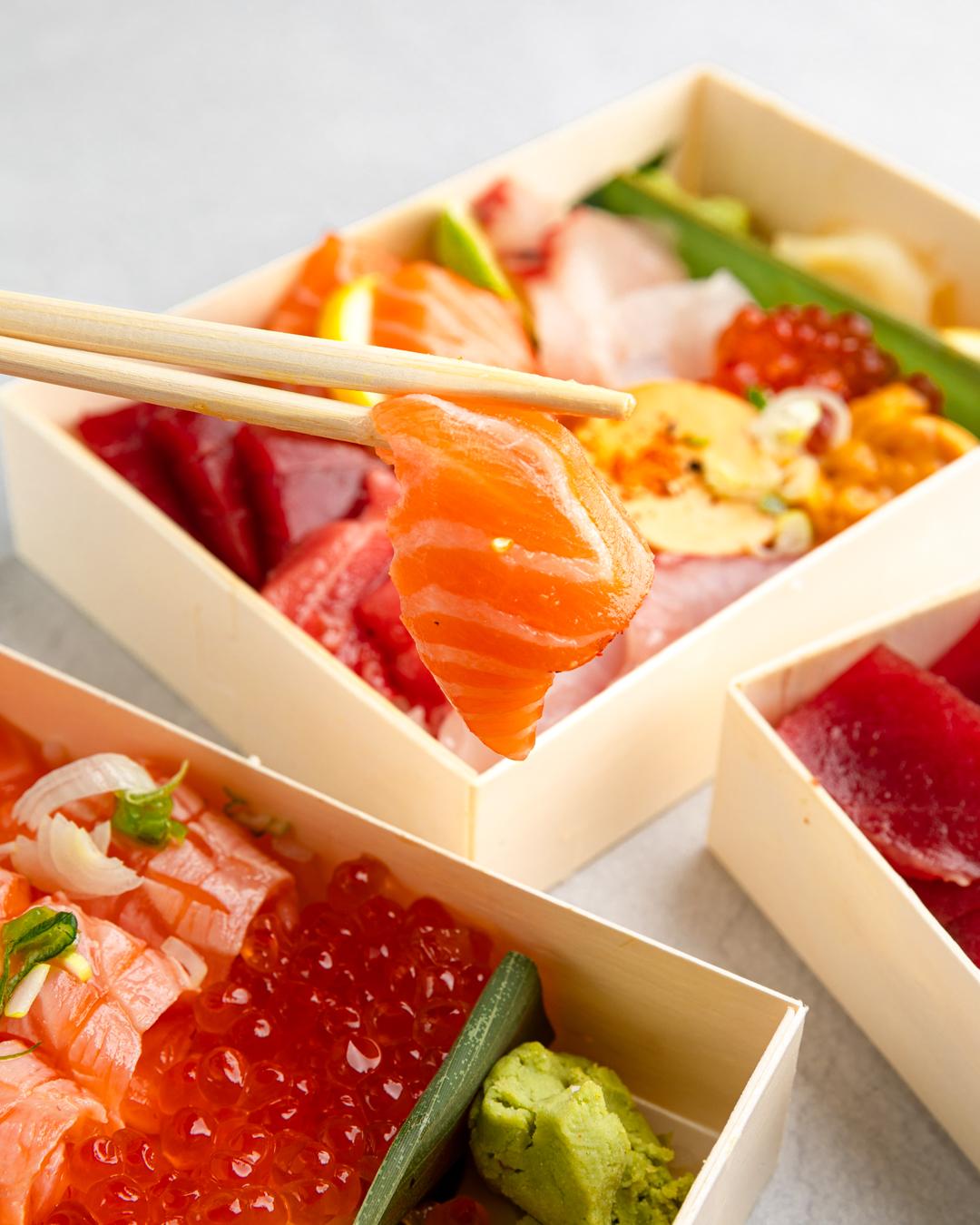 SACHI SUSHI_salmon ikura don-7