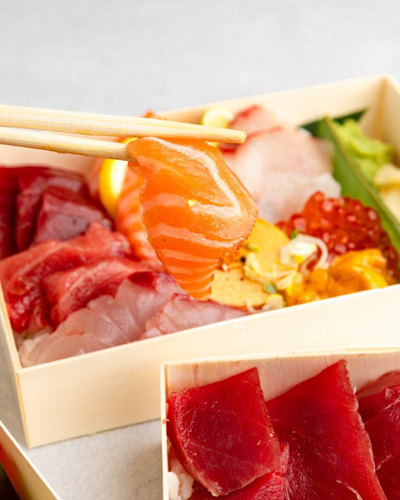 SACHI SUSHI_salmon ikura don-8